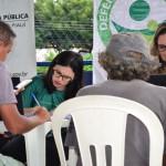 Atendimento no Parque Rodoviário
