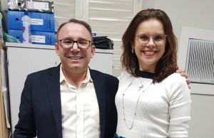 Dra. Karla Andrade e Dr. Antônio Caetano