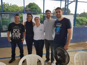 Dra. Sheila de Andrade e equipe