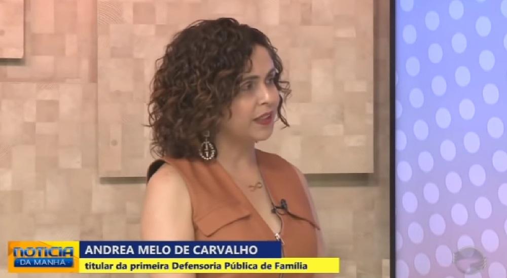 Dra. Andrea Melo na TV Cidade Verde 01