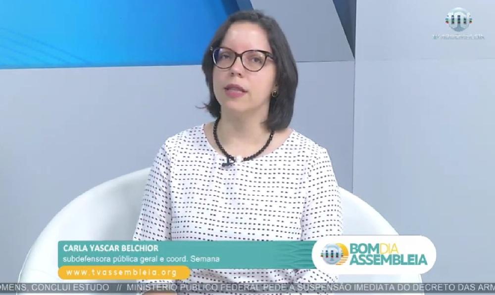 Dra. Carla Yas na tv alepi semana ed