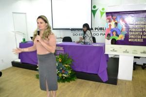 Palestra Dra. Patrícia Monte com participação da advogada Flávia Vallenares