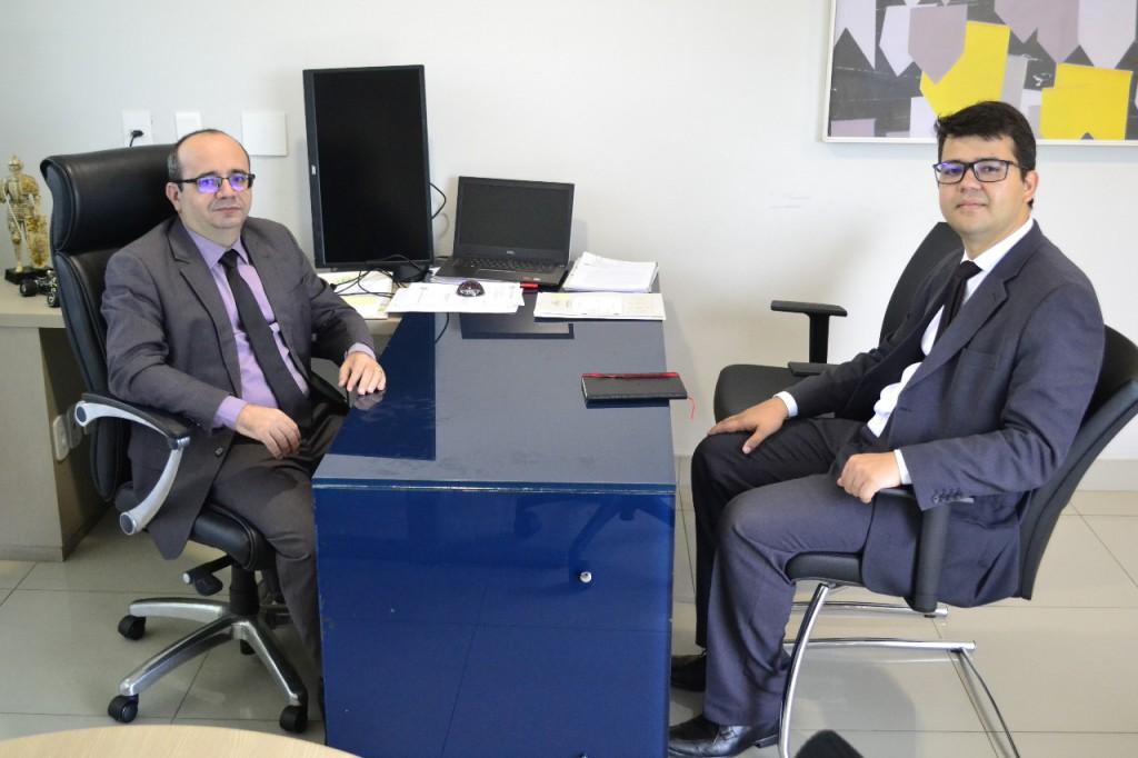 Dr. Erisvaldo Marques e Dr. Francisco Lucas
