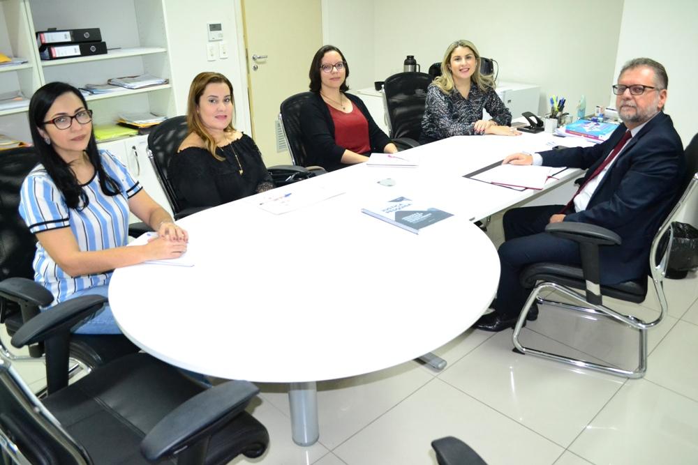 Reunião aconteceu no Fórum de Teresina