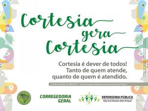 Banner Cortesia gera Cortesia