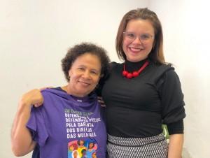 Reuniao com a vice-governadora Regina Sousa