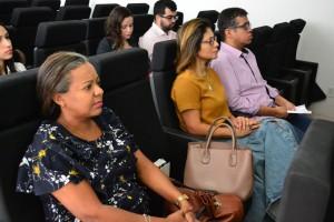 Público presente à Oficina de Pais e Filhos