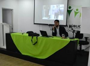 Dr. João Neto discorre sobre a Oficina de Pais e Filhos
