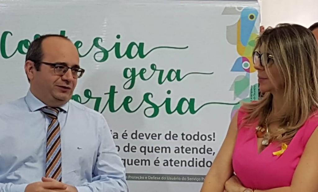 Dr. Erisvaldo Marques e Dra. Ana Patrícia Salha explicaram a campanha