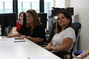 Reunião aconteceu no gabinete da Coordenadora do Nupemec.