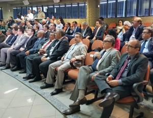 Dr. erisvaldo marques e demais autoridades na posse do Juiz eleitoral Aderson Nogueira