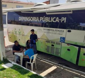 Defensoria Itinerante integra a Jornada até a sexta-feira (13)