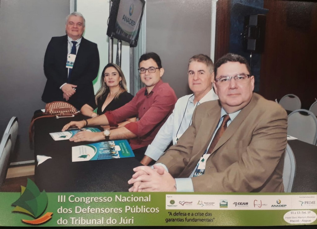 Grupo de Defensores piauienses em Alagoas