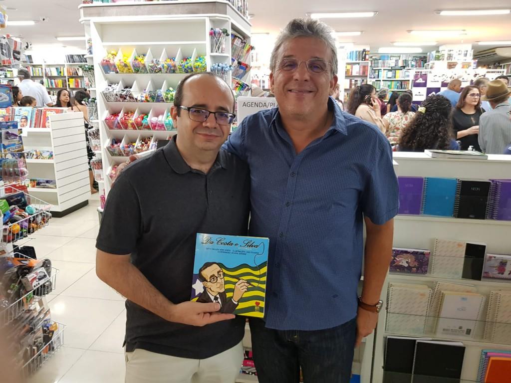 Dr. Erisvaldo Marques e Dr. Nelson Nery Costa
