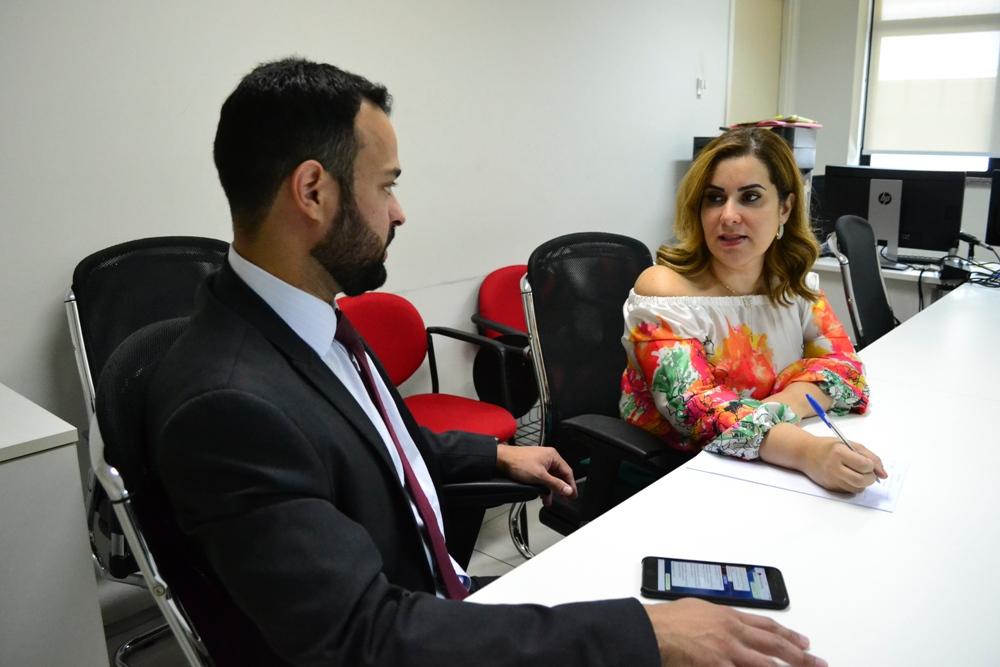 Dra. Sheila de Andrade e Gerente o Jurídico da Equatorial, Windsor Santos