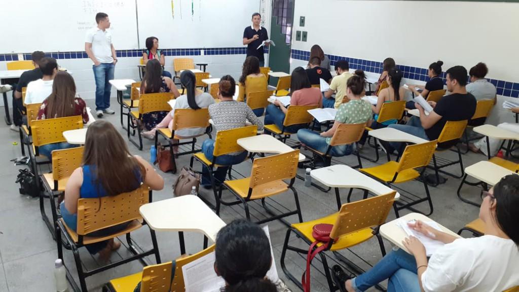 Aplicação das provas na Universidade Federal do Piauí, em Teresina