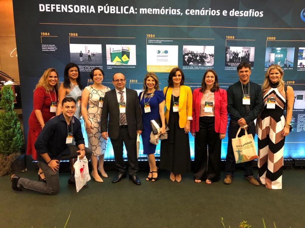 Defensores Públicos do Piauí na abertura do CONADEP