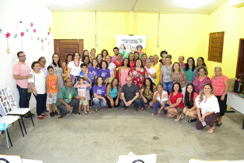 Encerramento Curso Defensoras Populares no Itararé