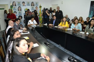 Solenidade foi conduzida pela Vice-Governadora Regina Sousa