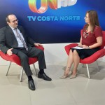 Dr. Erisvaldo Marques dos Reis em entrevista à TV Costa Norte