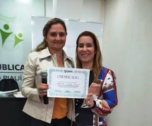 Diretora Cível Sheila de Andrade foi uma das palestrantes