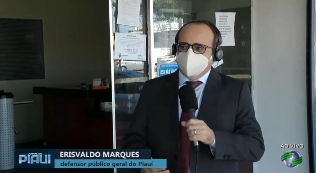 Dr. Erisvado marques na cidade verde pandemia